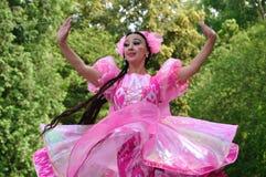 Rhytms von Uzbekistan Stockfotografie