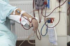 Riñón de la medicina del cuidado médico de la diálisis Fotografía de archivo libre de regalías