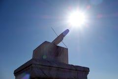 Ri GUI (Sonnenuhr) in der Verbotenen Stadt (GU-Klingel) Lizenzfreie Stockfotografie