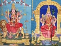 Ri Mahamariamman świątynia, Porcelanowy Grodzki Kuala Lumpur, Malezja zdjęcia royalty free
