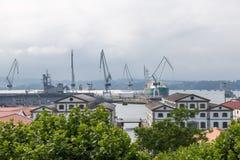 Ria de费罗尔半岛 库存图片