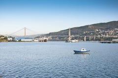 Ria de Vigo Foto de Stock Royalty Free