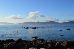 Ria de Vigo, España fotografía de archivo
