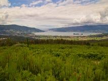 Ria de Vigo from Redondela Stock Images