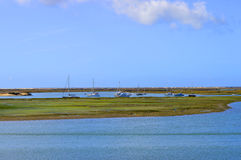 Ria Formosa nature reserve Stock Photography