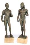 Riace bronser arkivbilder