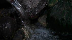 Riacho nas montanhas video estoque