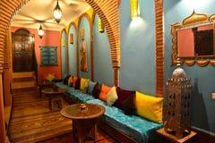 Riad в Marrakesh, Марокко Стоковая Фотография RF