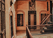Riad court Stock Image