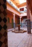 Riad de Ait Ben Haddou Fotos de archivo libres de regalías