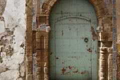 Riad door Royalty Free Stock Images