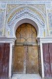 Riad em Meknes, Marrocos Imagem de Stock