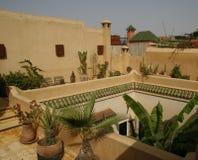 Riad en Marrakesh Fotos de archivo
