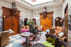 Riad en Marrakesh imagenes de archivo