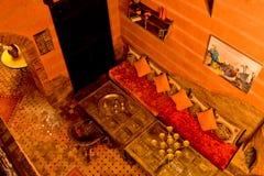 Riad en Marrakesh, Marruecos Imagenes de archivo