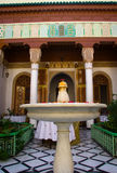 Riad fountain Stock Images