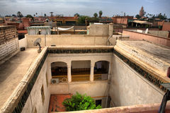 Riad high views Royalty Free Stock Photography