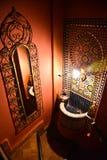 Riad i Marrakesh, Marocko Arkivfoton