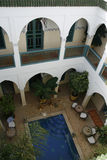 Riad in Marrakech. Comfortable Riad in Marrakech, Morocco Stock Image