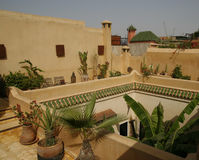 Riad in Marrakech Stock Photos