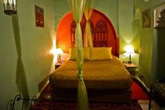 Riad in Marrakesch, Marokko Stockfotos