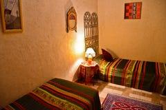Riad in Marrakesch, Marokko stockbild