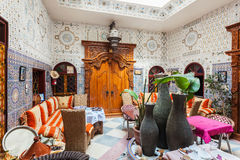 Riad in Marrakesh Royalty Free Stock Images