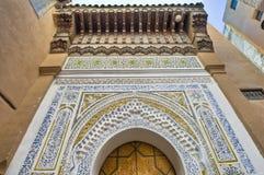 Riad a Meknes, Marocco Immagine Stock