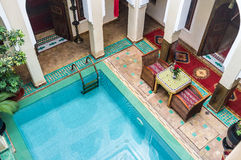 Riad Relaxation Stock Photos