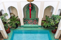 Riad Relaxation Stock Photo