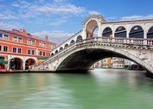Rialto桥梁- Venezia 库存照片