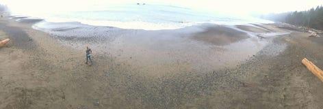 Rialto海滩 免版税库存照片