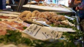Rialto食品批发市场的场面在威尼斯(4 22) 影视素材