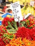 rialto αγοράς chilis Στοκ φωτογραφία με δικαίωμα ελεύθερης χρήσης