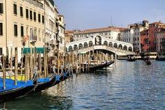 rialto Βενετία γεφυρών Στοκ εικόνες με δικαίωμα ελεύθερης χρήσης