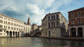 rialto Βενετία Στοκ Φωτογραφία