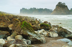 Rialto Beach, Olympic National Park, Washington Stock Image