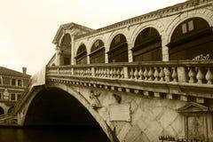 Rialto Brücke Stockfotografie