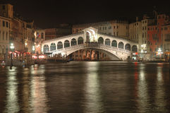 Rialto Brücke Lizenzfreie Stockfotografie