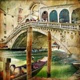 Rialto Brücke Stockfotos