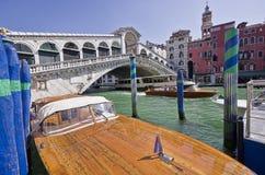 Rialto-Brücke, Venedig Stockfotografie