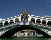 Rialto bridge. Venice,Italy Stock Images