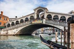 Rialto Bridge Royalty Free Stock Photography