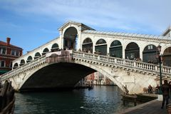Rialto bridge. Venice - Italy royalty free stock photo