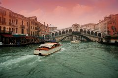 Rialto bridge Royalty Free Stock Photos
