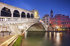 Rialto Bridge. Stock Photography