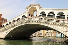 Rialto Bridge, Venice Stock Images