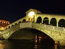 Rialto Bridge in Venice Italy stock photography
