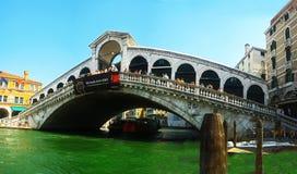 Rialto bridge panorama Royalty Free Stock Image