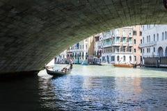 Rialto Bridge Ponte di Rialto Stockbilder